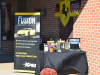 Elite Paint's display at CPR's and EMC's Oktoberfest  cruise in