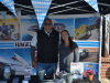 Hagerty Insurance display booth at CPR's and EMc's Oktoberfest cruise in