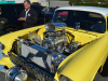 a bright yellow car on display CPR's and EMc's Oktoberfest cruise in
