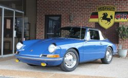#0267 1968 Porsche 912 Targa