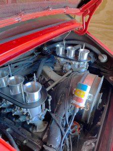 PMO carburetor installed in a Porsche 911