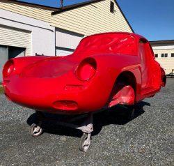 1963 Porsche 356 after paint